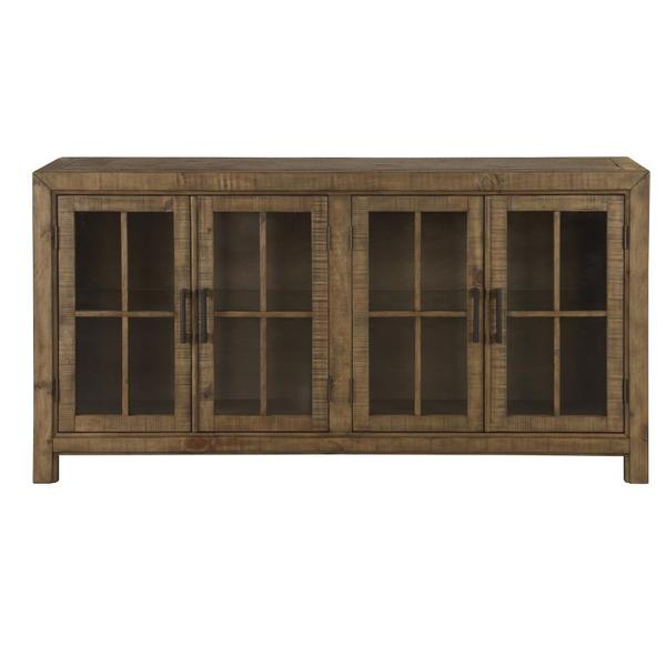 See Details - Buffet Curio Cabinet