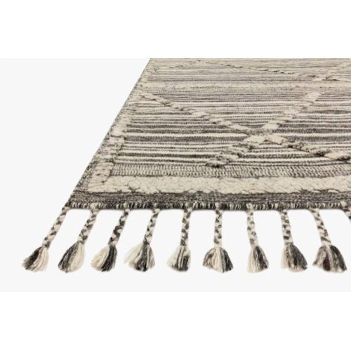 IMA-01 Ivory / Charcoal Rug