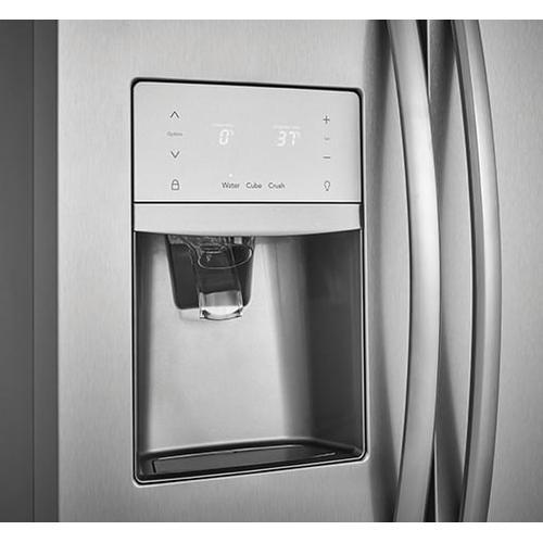 Frigidaire - Frigidaire Gallery 22.2 Cu. Ft. Counter-Depth Side-by-Side Refrigerator