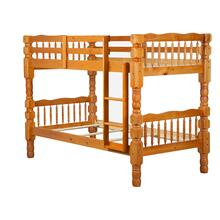 Dakota Twin/Twin Bunk Bed, Honey Pine