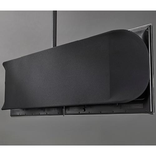 Fusion Flat Panel Back Cover, Dual - Large