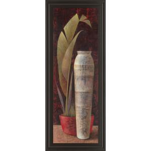"""Banana Leaf Il"" Framed Print Wall Art"