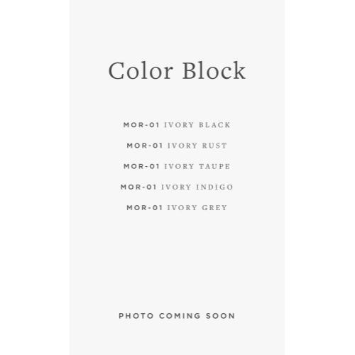 MOR-01 ED Color Block / 01