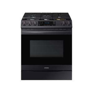Samsung Appliances6.0 cu ft. Smart Slide-in Gas Range with Air Fry in Black Stainless Steel