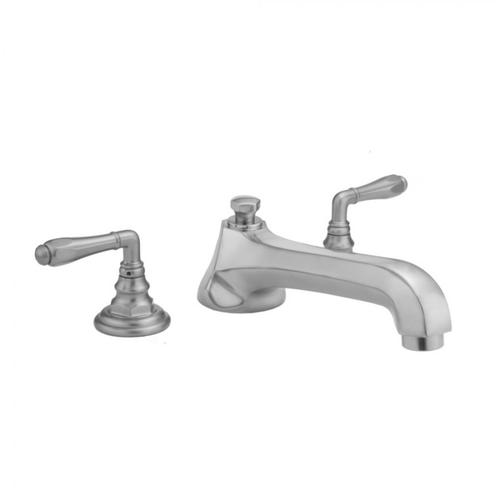 Jaclo - Pewter - Westfield Roman Tub Set with Low Spout and Smooth Lever Handles