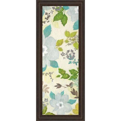 "Classy Art - ""Fragrant Garden Il"" By Tava Studios Framed Print Wall Art"