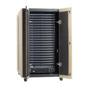EdgeReady Micro Data Center, 21U, Quiet, 3 kVA UPS, Network Management and PDU, 120V Assembled/Tested Unit
