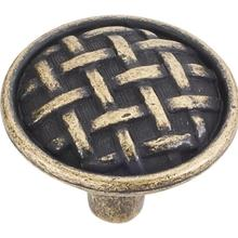 "1-5/8"" Diameter Braided Cabinet Knob."