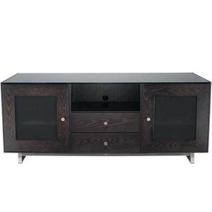 """Sanus - Charcoal AV Stand For TVs up to 70"""" and 150 lbs / 68 kg"""