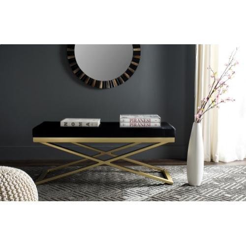 Acra Bench - Black / Gold