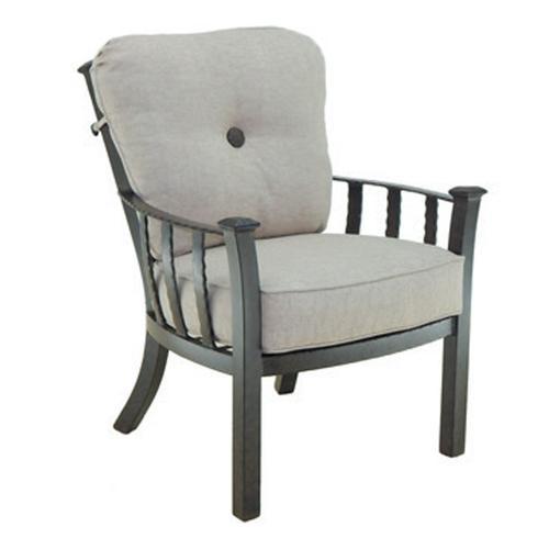 Castelle - Santa Fe Cushioned Dining Chair
