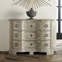 Venetian Commode-Antique Grey With Gold Accent