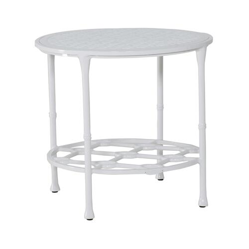 "Castelle - 21.5"" Savannah Round Side Table"