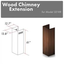 "ZLINE 61"" Wooden Chimney Extension for Ceilings up to 12.5 ft. (321RR-E)"