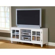 "Grand Bay 61"" Entertainment Console White"