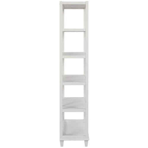 Osborne - Open Bookcase - Winter White Finish