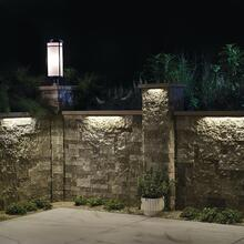 """12V 2700K LED 18"""" Hardscape Textured Architectural Bronze"""