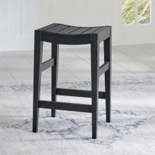 24 Inch Counter Stool(RTA) - Black
