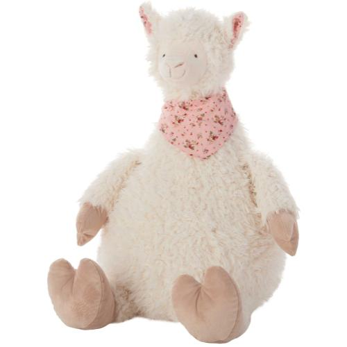 "Plushlines N0606 Ivory 23"" X 24"" Plush Animal"