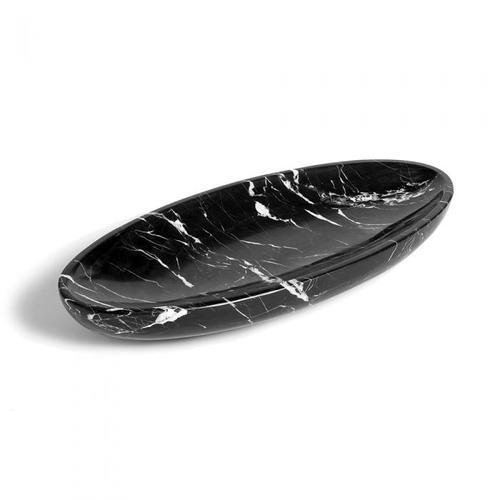 Harlow Oval Tray - Black
