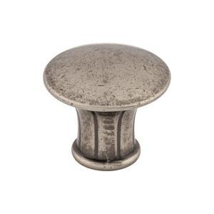 Top Knobs - Lund Knob 1 1/4 Inch Pewter Antique