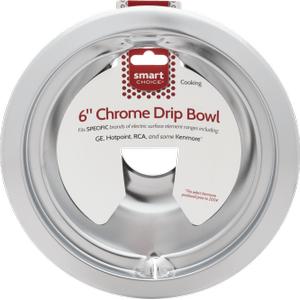 FrigidaireSmart Choice 6'' Chrome Drip Bowl, Fits Specific