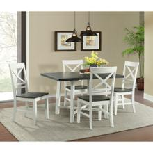 El Paso Dining Set - Table and 4 Chairs