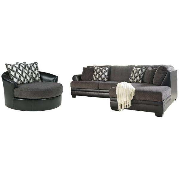 See Details - 2-piece Sectional With Chair