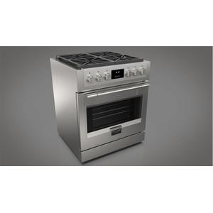 "Fulgor Milano30"" All Gas Pro Range - Stainless Steel"