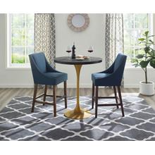 See Details - Drive Wood Bar Table in Black Gold