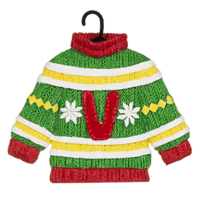 Sweater Ornament - V