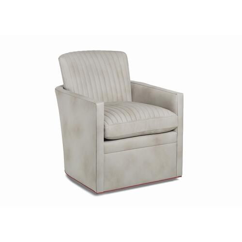Rizzo Channel Quilted Swivel Chair