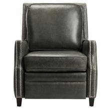 See Details - Buddy Leather Recliner - Aged Black