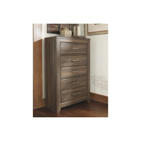 Juararo Five Drawer Chest Dark Brown