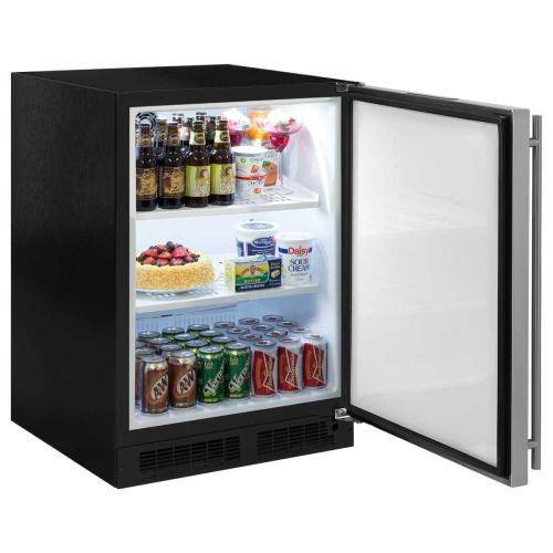 24-In Built-In All Refrigerator with Door Swing - Right