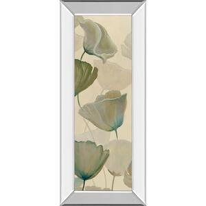 "Classy Art - ""Poppy Impression Panel 1"" By George Generali Mirror Framed Print Wall Art"