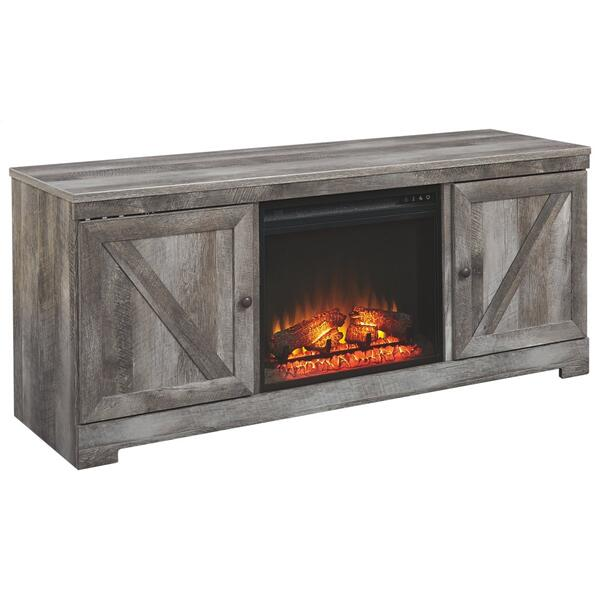 """Wynnlow 63"""" TV Stand With Fireplace"""