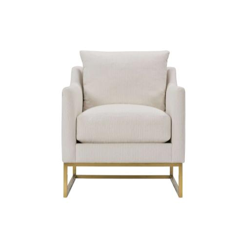 Skyler Gold Frame Chair