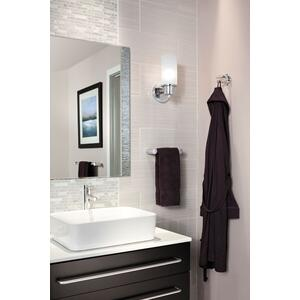 "Align chrome 18"" towel bar"