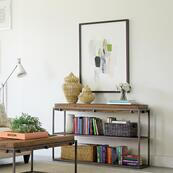 Maverick - Sofa Table - Rustic Saal Finish