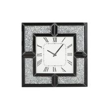 "WD MIRROR WALL CLOCK 20""W, 20""H"