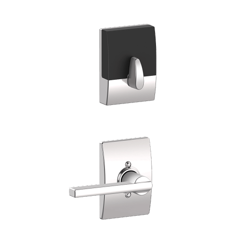 Schlage - Century Style Schlage Touch and Latitude Lever - Bright Chrome