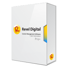 Revel Digital CMS Pro+ Subscription Software