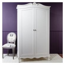 GA Chic 2 Door Wardrobe Vanilla White