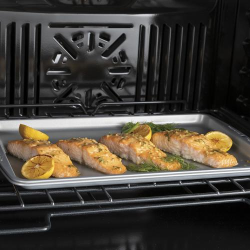 """GE 30"""" Built-In Convection Single Wall Oven Black Stainless Steel - JTS5000BNTS"""