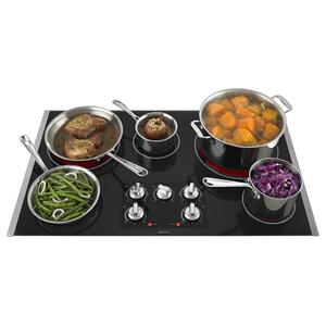36-inch Electric Cooktop with Two Dual-Choice Elements