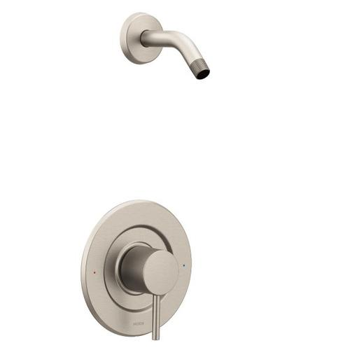 Align brushed nickel posi-temp® shower only