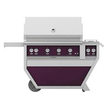 "42"" Hestan Outdoor Deluxe Grill with Double Side Burner - G_BR__CX_ Series - Lush"