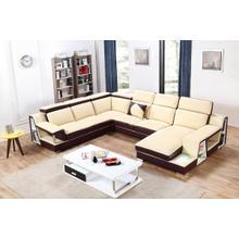 Divani Casa T718 Modern Leather Sectional Sofa