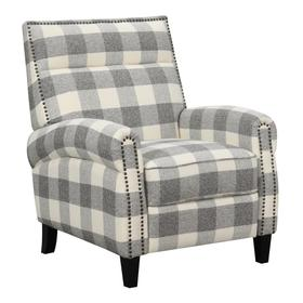 Emerald Home Wilow Creek Press Back Chair Checkered